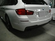 BMW 5シリーズ 宇都宮市から板金塗装修理でのご来店です。