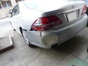 トヨタクラウン 板金塗装修理で、宇都宮市からのご来店です。