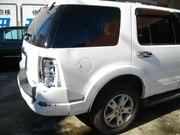 フォード エクスプローラー板金塗装修理で宇都宮市からのご来店です。