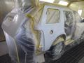 フォード エクスプローラー板金塗装修理で宇都宮市からのご来店です。3