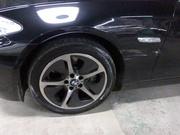 BMW 5 シリーズ 板金塗装修理で大田原市からご来店です。