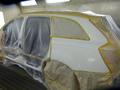 アウディーアウディーQ7 栃木県宇都宮市から板金塗装修理でご来店です。2