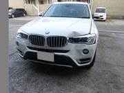 BMW X3 栃木県宇都宮市から板金塗装修理でご来店です。