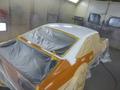 旧車のルーフパネル、 錆修理 サニー、カリーナ2