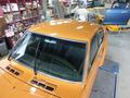 旧車のルーフパネル、 錆修理 サニー、カリーナ3
