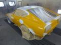 旧車のルーフパネル 錆修理 フェアレディーZ3