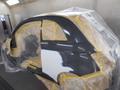 フィアット 500 栃木県宇都宮市から板金塗装修理でご来店です。3