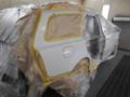 ボルボ V50 栃木県宇都宮市より板金塗装修理でご来店です。3