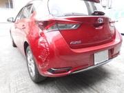 トヨタ オーリス 栃木県宇都宮市から板金塗装修理でご来店です。