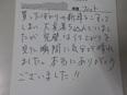 ホンダ フィット  栃木県宇都宮市から板金塗装修理でご来店です。